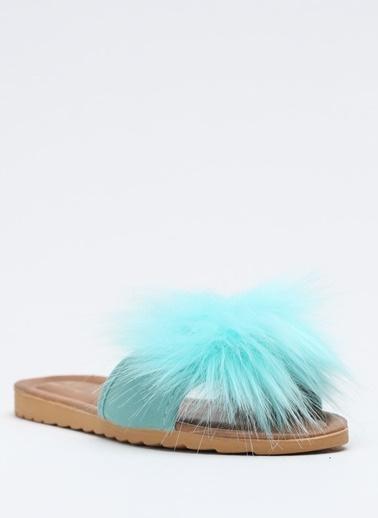 Shoes1441 Terlik Yeşil